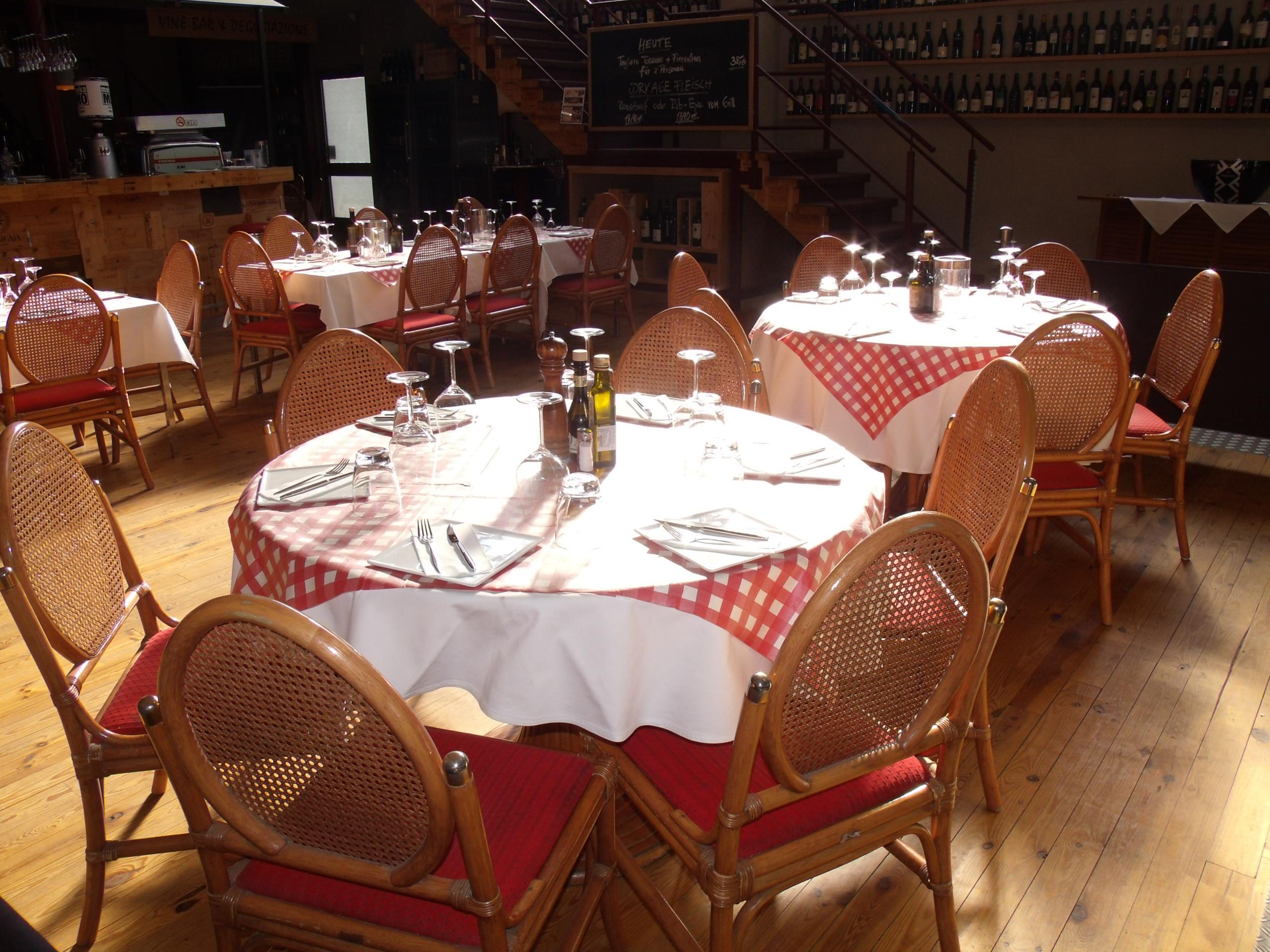 Sitzbereich Mavin Restaurant Augsburg