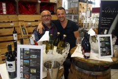 Weindegustation in Augsburg bei Mavin